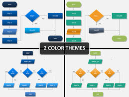Ppt Flow Chart Template Powerpoint Flow Chart Template Sketchbubble