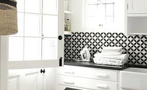 black and white tile kitchen backsplash custom cut black white tile black and white subway tile backsplash pictures