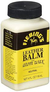 com fiebing s leather balm with atom wax finish 4oz arts crafts sewing