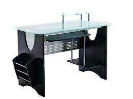 glass top office table desk furniture india home espresso awesome 1 d