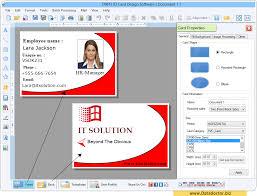 Identity Card Design Id Card Designing Software Create Student Employee Identity Card