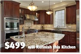 ... Cost To Refinish Kitchen Cabinets Endearing Kitchen Cabinet Refinishing  Cost Kitchen Cabinet Refinishing Fort Design Decoration ... Nice Look