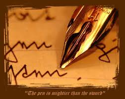 pen is mightier than a sword a short essay on power of writing  pen is mightier than a sword