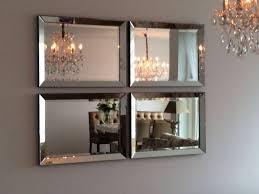 Domestica Interior Design Spiegel Met Spiegelrand Zilver 60x80 Cm