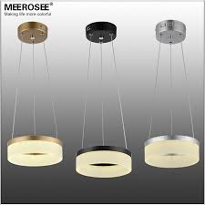 modern 1 ring led pendant font b light b font font b fixture b font round lighting