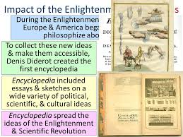 what was the impact of the enlightenment ppt impact of the enlightenment new ideas