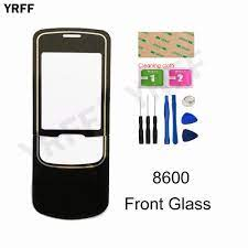 2.0'' Front Panel Glass For Nokia 8600 Front Glass Screen +Keypad Outer  Glass Cover Panel Replacement - Hot Sale #4BAB