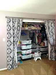 curtain closet door curtains for closet doors curtain closet door ideas closet door ideas with curtains