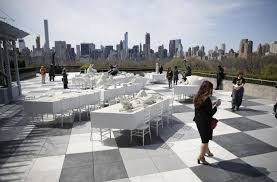 argentinian artist adrian villar rojas installation for the roof garden commission at the metropolitan museum of art titled the theater of disappearance