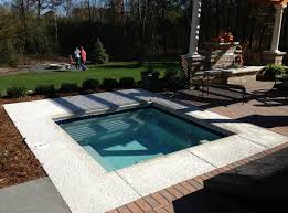 hot tub designs landscaping