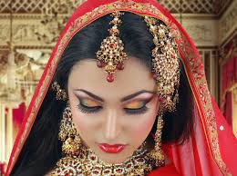 red and gold traditional bridal tutorial indian arabic asian bridal look for wedding you