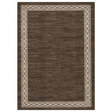 sparrow major brown bone white 5 ft x 7 ft area rug