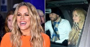 Caroline flack and her partner lewis burton were both allegedly covered in blood when police arrived at flat. Caroline Flack Looks Happy With Lewis Burton In Last Photos Together Metro News