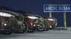 Blue Thermometer Light Mazda 3 Mazdas Cx 3 Cx 5 And Cx 9 Are Unlikely Arctic Explorers