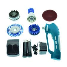 GBGS Cordless Power Scrubber with Rechargeable Battery Ideal ...