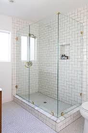 white subway tile grey grout shower tile ideas white subway tile bathroom