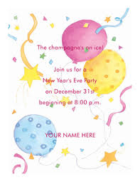 Sample Party Invite New Year Party Invitation Letter Sample Happy New Year 2019 Pictures