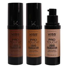 kiss professional pro touch liquid foundation