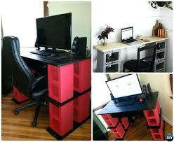 diy standing desk cinder block.  Desk Cinderblock  In Diy Standing Desk Cinder Block N