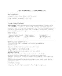 Pharmacy Technician Resume Templates Fascinating Resume Pharmacy Tech Sample Cv Template For Pharmacy Technician Uk