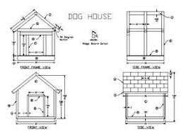dog house floor plans