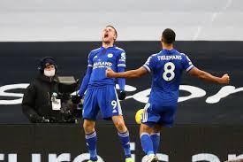 Foxes need help to secure champions league qualification. Premier League Match Report Tottenham Hotspur 0 2 Leicester City Fosse Posse
