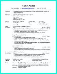 Resume Writing Science Associate Degree Computer Science Resume