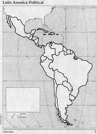Bengawan Solo Blank Map Of South America