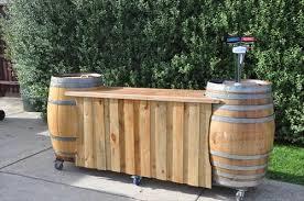 diy pallet bar. Wooden Bar With Pallet Diy