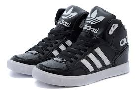 adidas shoes high tops for men. men\u0027s/women\u0027s adidas originals extaball high top leather basketball shoes black/white m20863 tops for men h