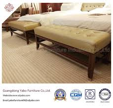 china thrifty hotel furniture with leather bedroom bed bench yb o 14 china living room furniture bedroom furniture