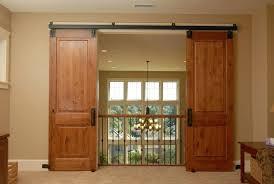 double glass barn doors trendy design