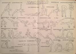 Ashtanga Vinyasa Krama Yoga At Home Old Illustrations