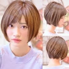 前下がりボブのヘアカタログみんなに似合う万能ヘア Hair