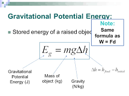 2 gravitational potential energy