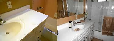 bathroom vanity refinishing marble bathtub before after refinishing