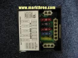 custom van recreational vehicle wiring diagrams autonet 100 fuse center