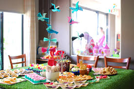 fabulous garden themed birthday party