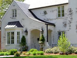 awesome painted brick houses for modern home design painted brick houses with roof and window