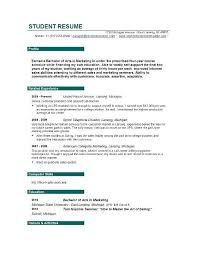 Student Resume Builder 11 Home Design Ideas Free Cosmetology