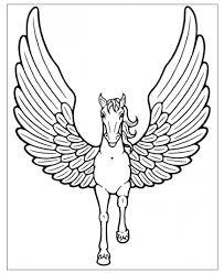 Una Raccolta Di Popolare Disegni Da Colorare Unicorni Alati