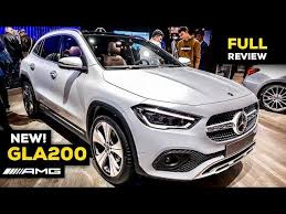 Welcome to supercartube!the super fuel for car lovers.join us in our daily series of videos from the biggest auto shows in europe, usa and canada, frankfurt. 2020 Mercedes Gla 200 Amg New Full Review World Premiere Interior Exterior Mbux Infotainment Manic Tube Videos