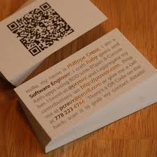 Resume Business Cards Gorgeous I Actually Think This Little Mini Resume Style Business Card Is