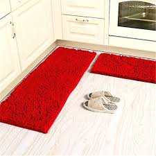 red bathroom rugs soft microfiber anti slip floor mat chenille rug bathroom rug set washable kitchen rug non slip absorbent floor runner mats in carpet