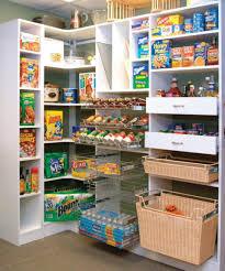 Wire Racks For Kitchen Storage Two Rattan Basket Wire Shelves With Kitchen Pantry Organization