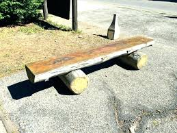 outdoor log benches rustic wedding bench rustic outdoor log benches outdoor log outdoor half log benches