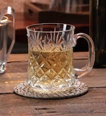 solitaire crystal beer mug bm 602 l