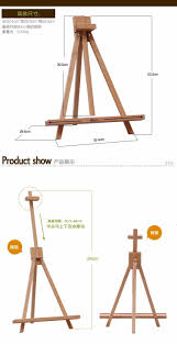 mini wood artist easel wedding number place name card stand display