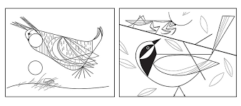 Charley Harper Coloring Book Plus Charley Harper Coloring Book Of