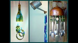 Diy Wind Chimes Recycled Wind Chimes Diy Craft Ideas Youtube